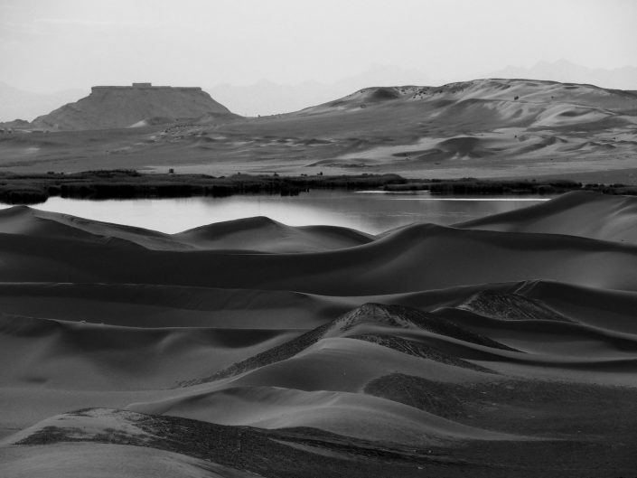 Dunes III (Lake & tower of silence)-Yazd-Iran